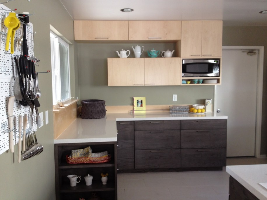 I shaped kitchen designs