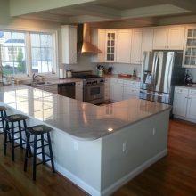 I shaped kitchen layout