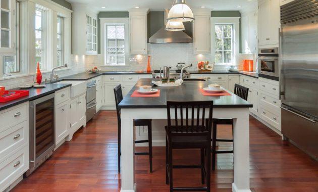 Minimalist U Shaped Kitchen Designs