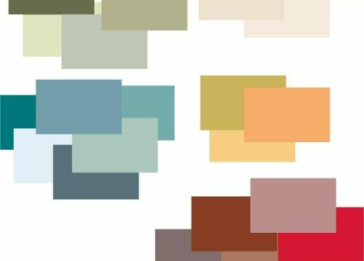 Art Deco Color Palette Combinations for Wall Painting