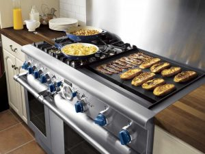 cooktops with grill