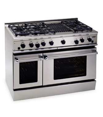 gas ranges with grill
