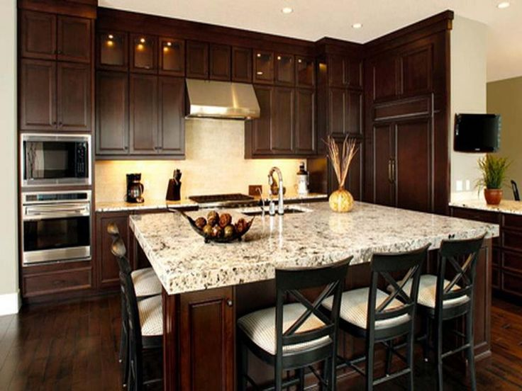 Elegant Kitchens with Dark Cabinets