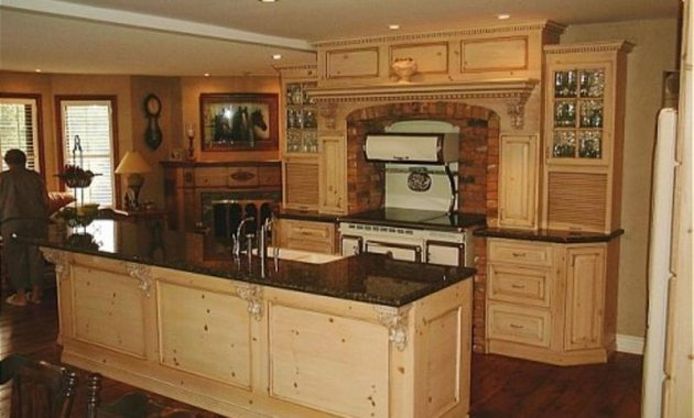 Take Care Knotty Pine Kitchen Cabinets