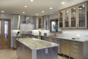 Stainless Steel Kitchen Cabinets Concept Minimalist