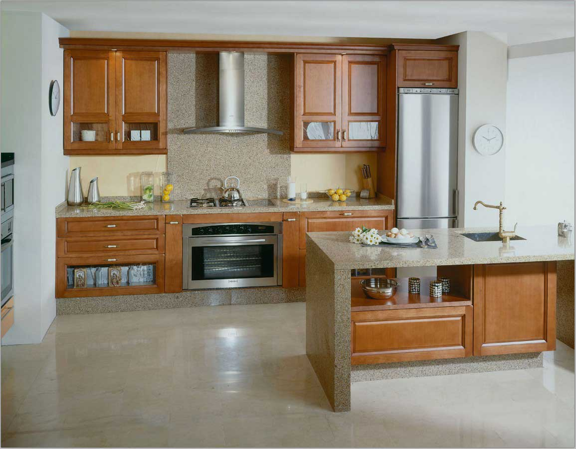 Open Floor Kitchen With Island