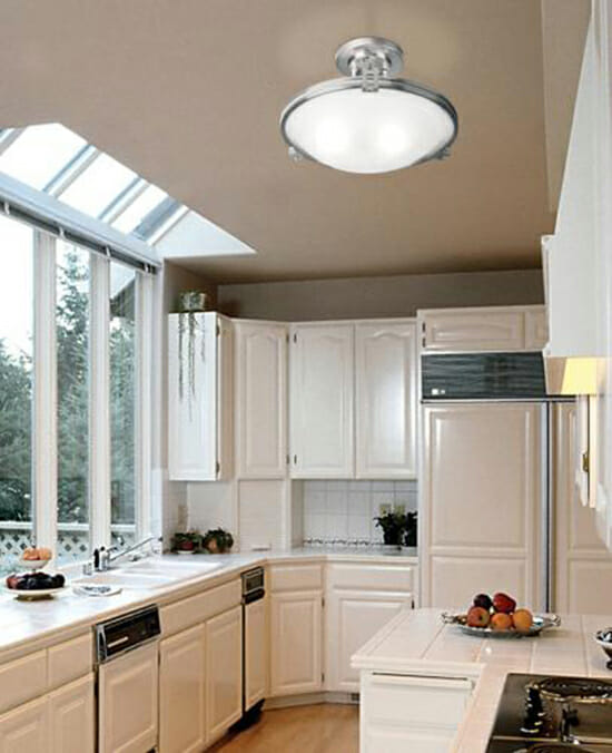 Choosing best type of lighting fixtures according to the kitchen concept type of lighting fixtures aloadofball Gallery