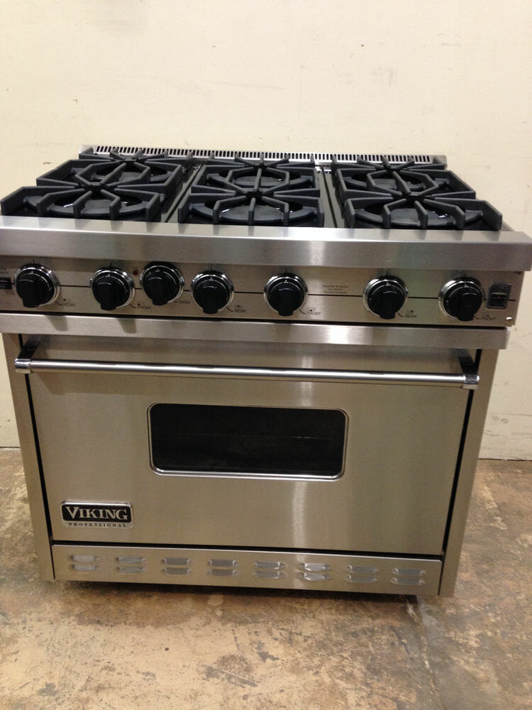 viking 36 gas ranges