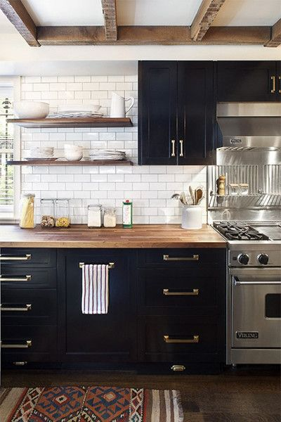 Black Kitchen Cabinet Ideas Kitchen