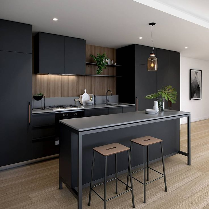 Black Kitchen Design Ideas Turn Your Kitchen Elegant and Stunning