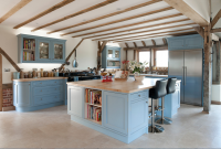 Blue beam Kitchen Design