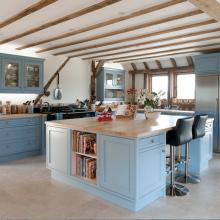 Blue beam Kitchen Design