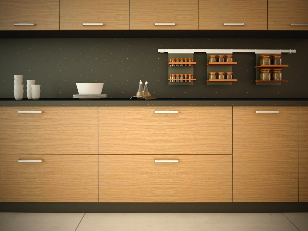 kitchen Cabinetry wood veneer