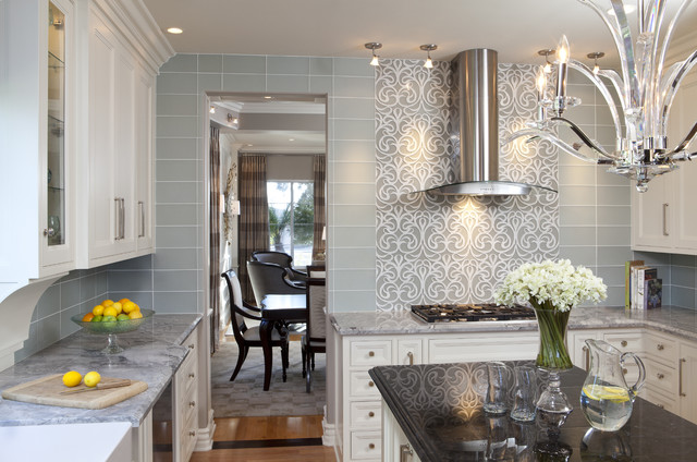 Glamour Kitchen Design Ideas