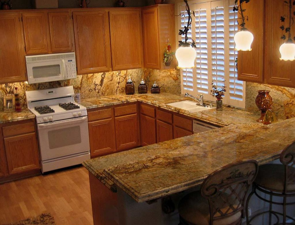 Gold Granite Countertops design