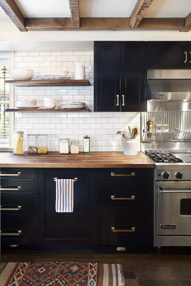 Kitchen Cabinet wooden shelves