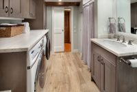 Small Kitchen and Laundry Combined Design