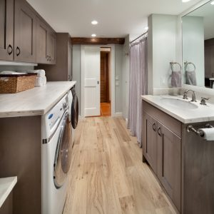 Small Kitchen and Laundry Combined Design Ideas