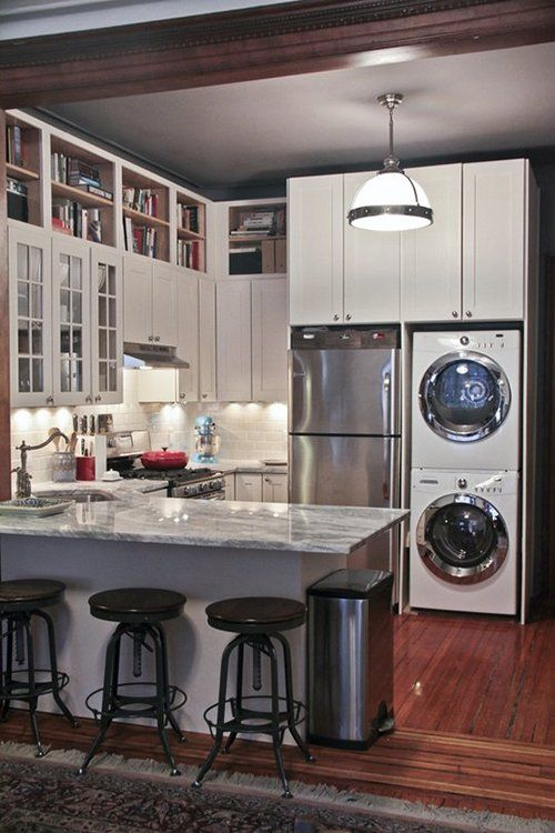 Small Kitchen and Laundry open space