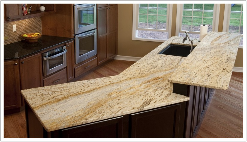 Gold Granite Countertops: Bunches of Benefits