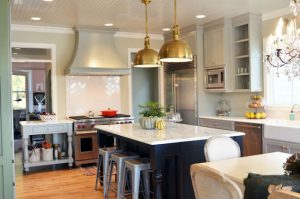brass pendant Lighting Ideas for Kitchen