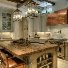 lantern Chandelier kitchen