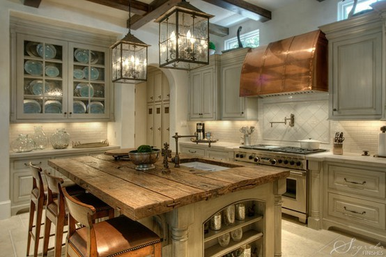 lantern Chandelier kitchen