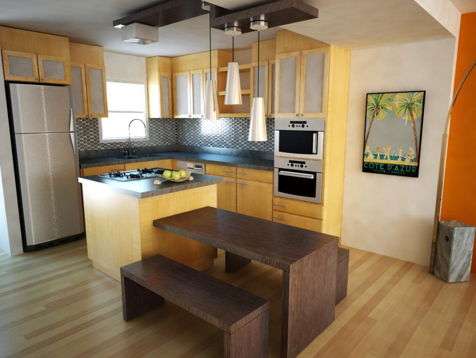 Simple Kitchen Design Ideas for small kitchen