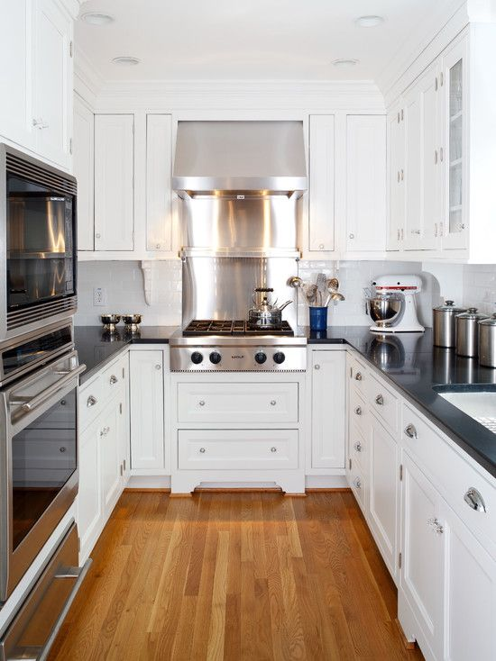 nautical Small White Kitchen Ideas