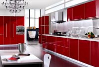 red Kitchen Cabinet Design Ideas