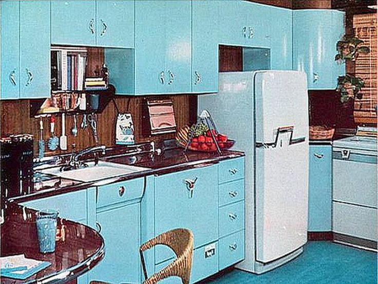1970s kitchen design ideas how to style up the area for Kitchen design 60s