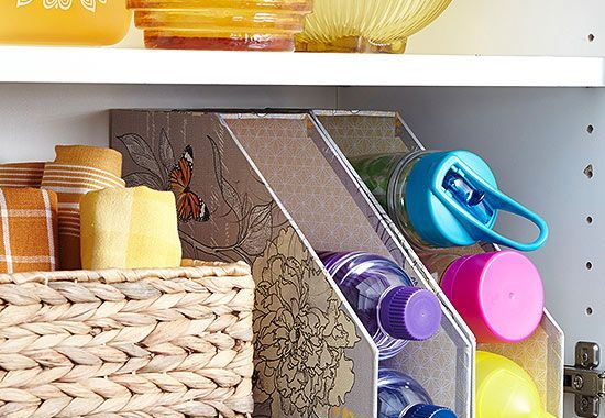 Kitchen Cabinet Organizing Ideas with the Simplest Everyday Items