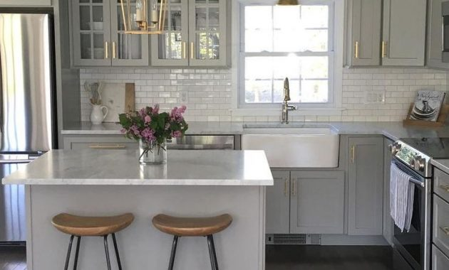 Kitchen Design Ideas with Stools: Making the Arrangements
