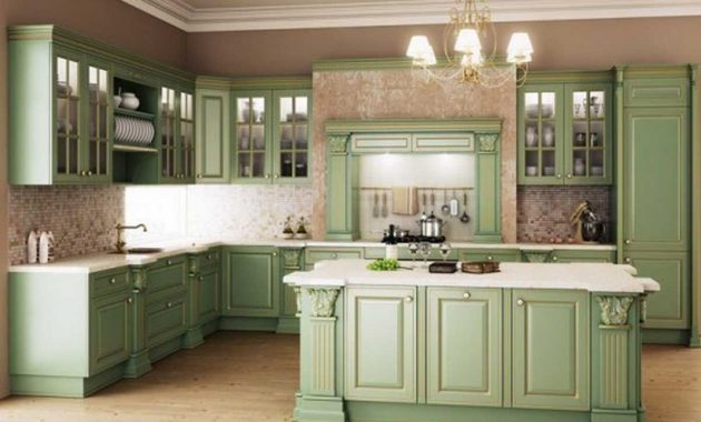 Retro Kitchen Design Set Ideas and Tips for the Design