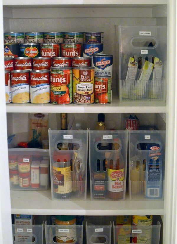 Small Pantry with organizing