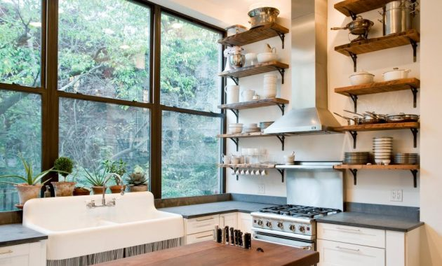 5 Smart Kitchen Storage Ideas without Cabinets