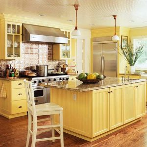 Yellow Kitchen Design Ideas With Pictures