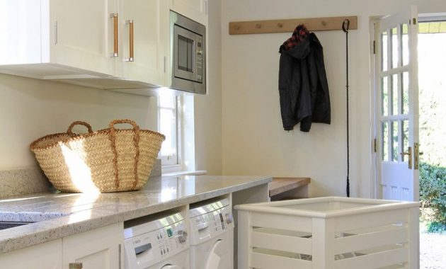 Washer/Dryer in Kitchen Ideas Conceal Your House's Flaws