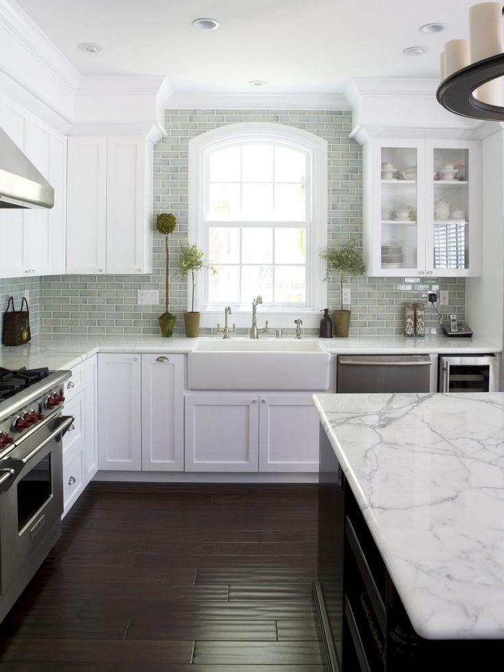 White marbles kitchen Ideas