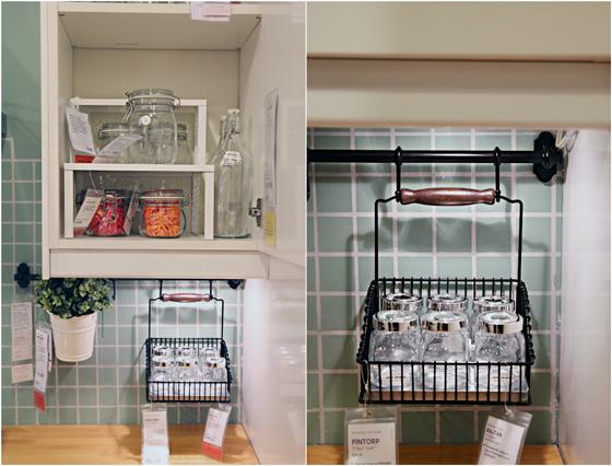 mix and match kitchen organizer