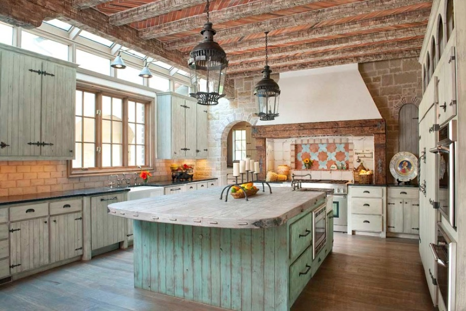 6 Ideas of Beautiful Rustic Style for Kitchen Interior Design
