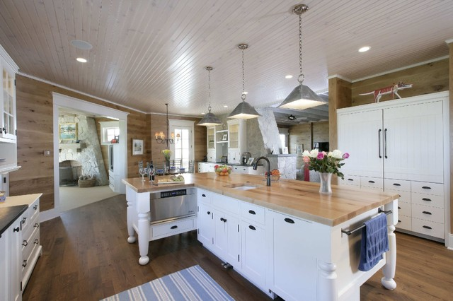 5 Great and Beautiful Kitchen Islands with Breakfast Bar with Table Attached