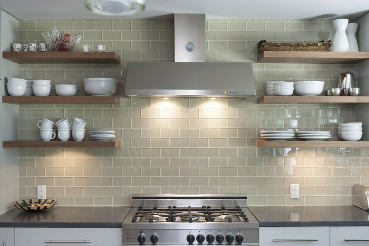 Backsplash Shelving