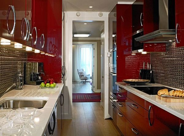 Color Theme Galley Kitchen