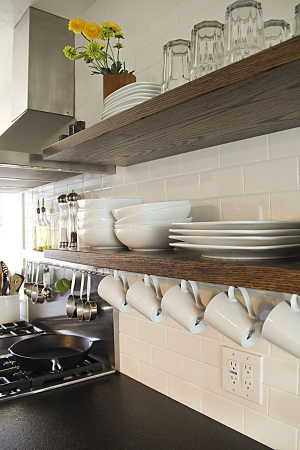 Floating kitchen Storage