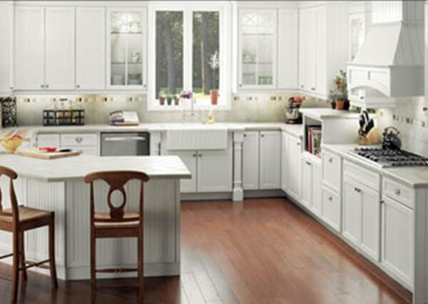 Ways to go with a g shaped kitchen layout for G shaped kitchen