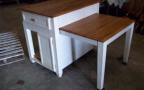 Kitchen Island with Pull out Table Ideas