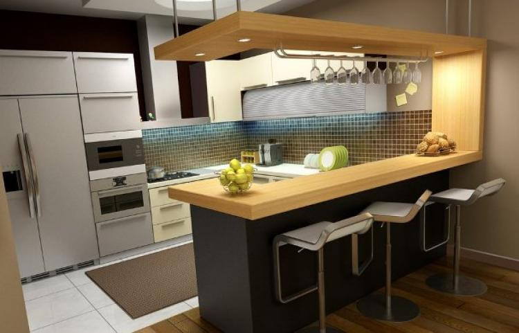 Peninsula Kitchen Interior Design