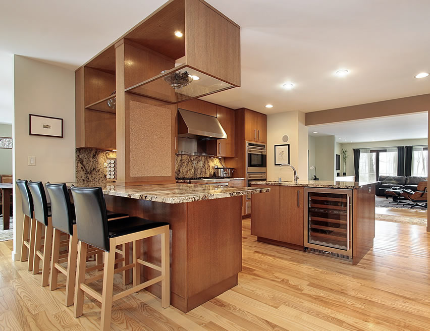 L Shaped Kitchen Designs With Peninsula Kitchen Appliances Tips