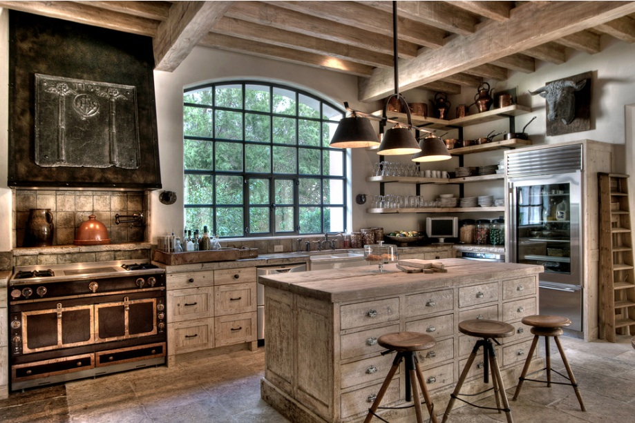 5 Tips To Get A Rustic Kitchen